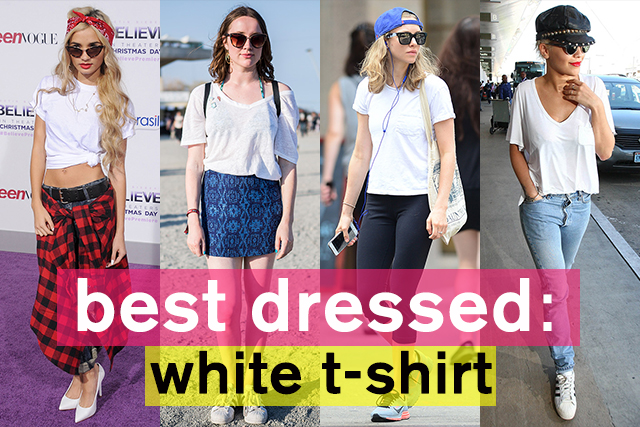 夏のヘビロテアイテム! ホワイトTシャツスタイル特集