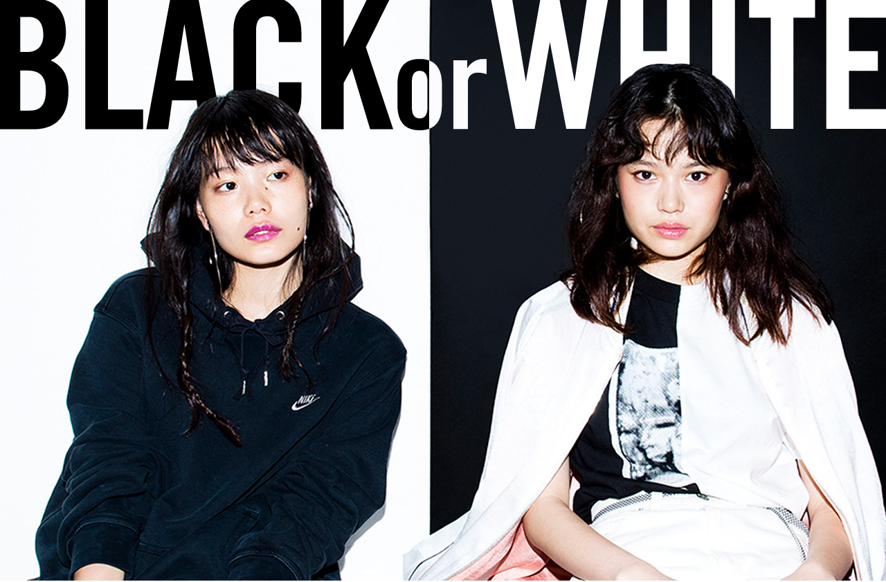 9月のマンスリーカラーはBLACK & WHITE IROZAで作る鮮やかなモノトーンコーディネイト