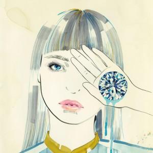 イラストレーター 佐瀬麻友子の個展が原宿がギャラリー・ルモンドで開催