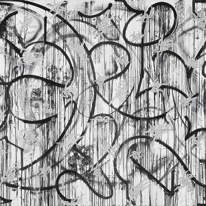 グラフィティを新たな次元に押し上げるアーティスト 大山エンリコイサムが個展を開催中