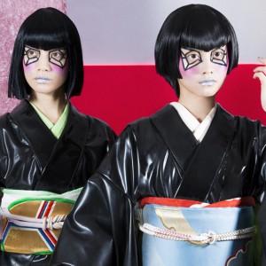 "#trickormakeup vol.1 ""和モダン""メイクが似合う着物ガールに変身"