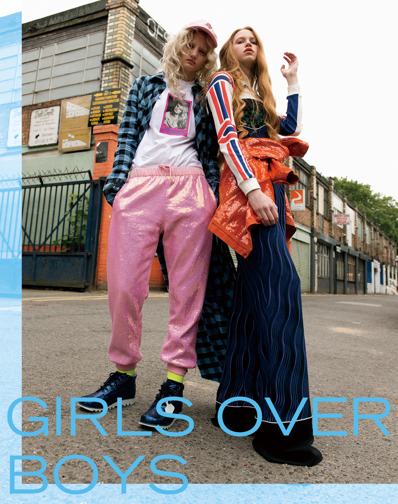 GIRLS OVER BOYS ジェンダーの垣根を超えるガールズパワー