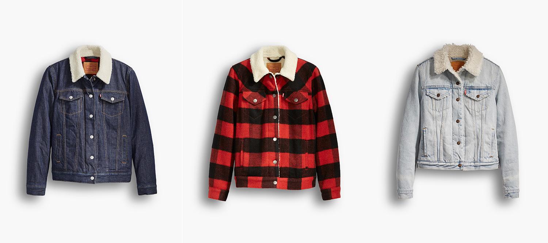 デニム好き必見!  Levi's®からウィメンズのシェルパトラッカージャケットが日本上陸