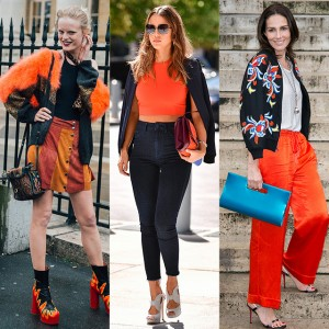 季節感をトッピング! オレンジカラースタイル特集
