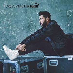 天才R&Bシンガー The WeekndがPUMAとコラボレイト!