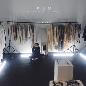 NYコレクションでも脚光を浴びたIKUMIが一般顧客向け受注会を開催中
