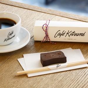 CAFÉ KITSUNÉでヘルシーなショコラケーキを堪能♡
