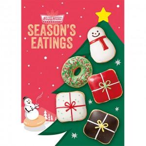 今年のホリデーはクリスピー・クリーム・ドーナツの『ホリデー ギフト ダズン』でクリスマスを盛り上げよう♡