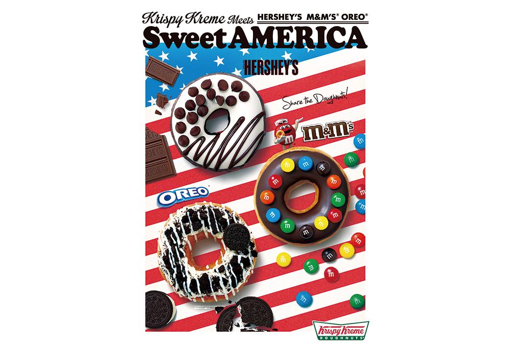 アメリカ生まれの国民的スイーツとクリスピー・クリーム・ドーナツの夢のコラボが実現!