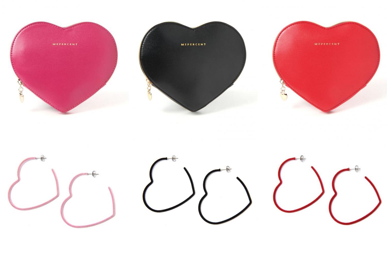 Me%からバレンタインにぴったりなハートモチーフのアイテムが登場!