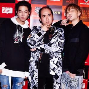 BIGBANGの弟分であるHIPHOPユニットMOBBとトレエン斎藤が 『NYLON JAPAN × Onitsuka Tiger』のプレミアパーティで夢の共演!!