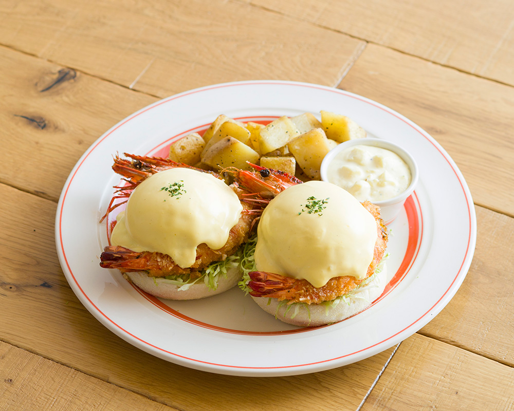 Eggs 'n Things 名古屋PARCO店オープン2周年記念! ここでしか食べれない限定エッグスベネディクトが登場