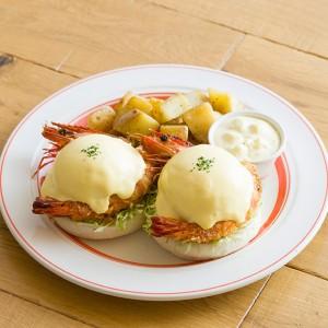 Eggs'n Things 名古屋PARCO店オープン2周年記念! ここでしか食べれない限定エッグベネディクトが登場