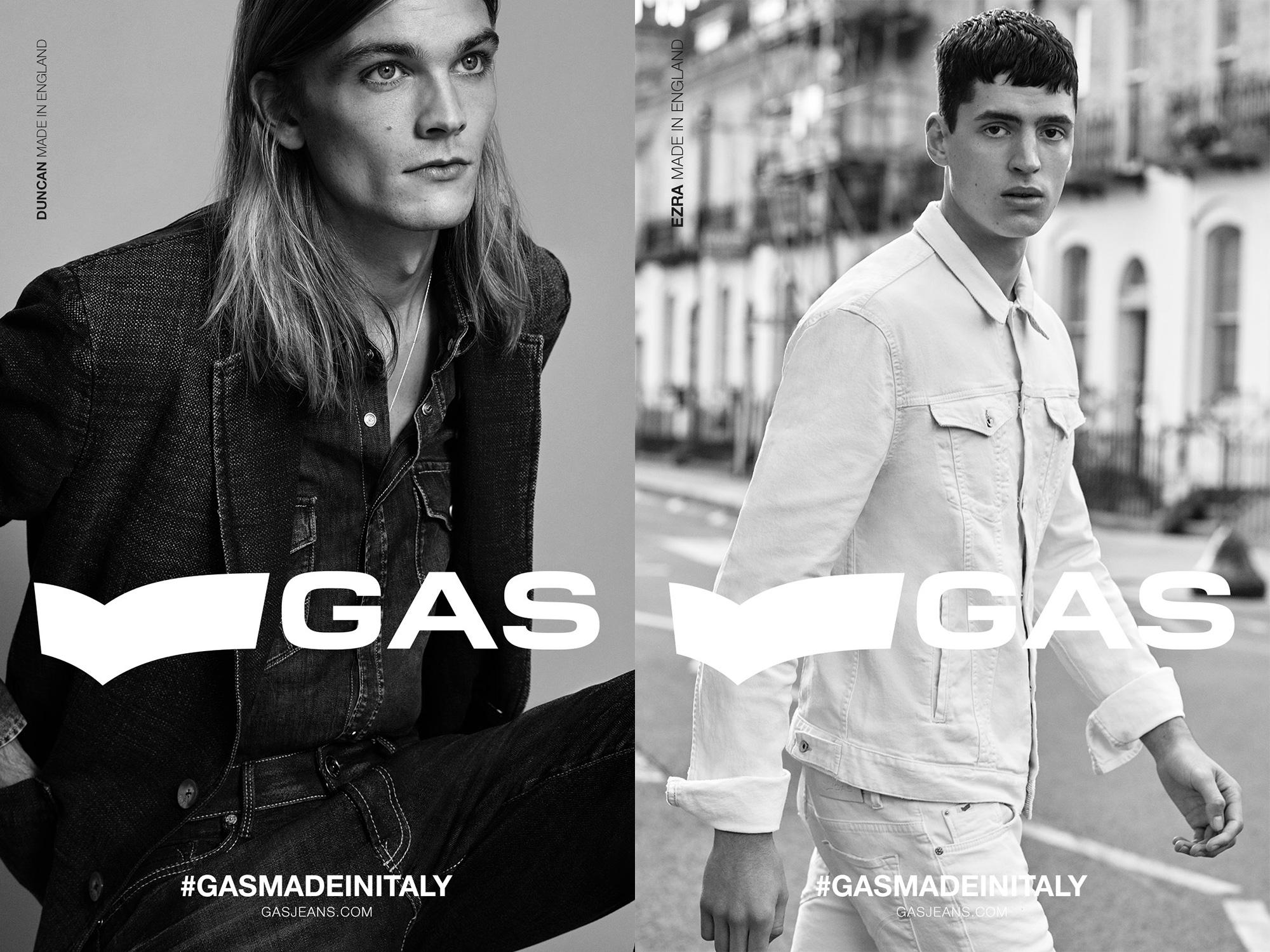 イタリア発のデニムブランド『GAS』がミレニアム世代とリンクしたSSキャンペーンビジュアルを公開!