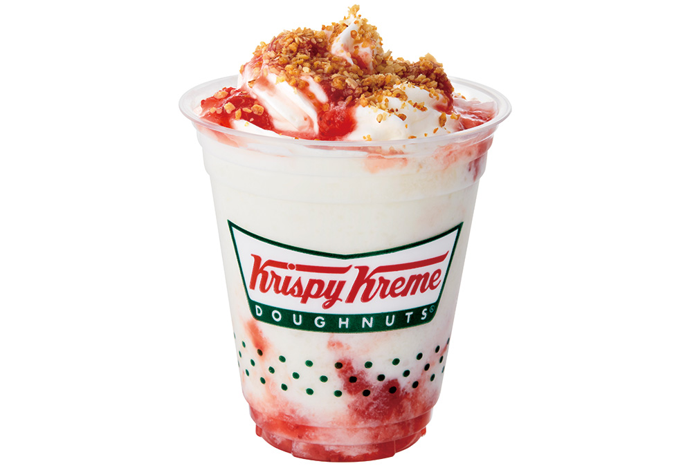 クリスピー・クリーム・ドーナツから春にぴったりな甘酸っぱいドーナツが新登場♡