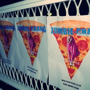ゲリラ的に突如解禁された、ZOMBIE-CHANGのリリースパーティ