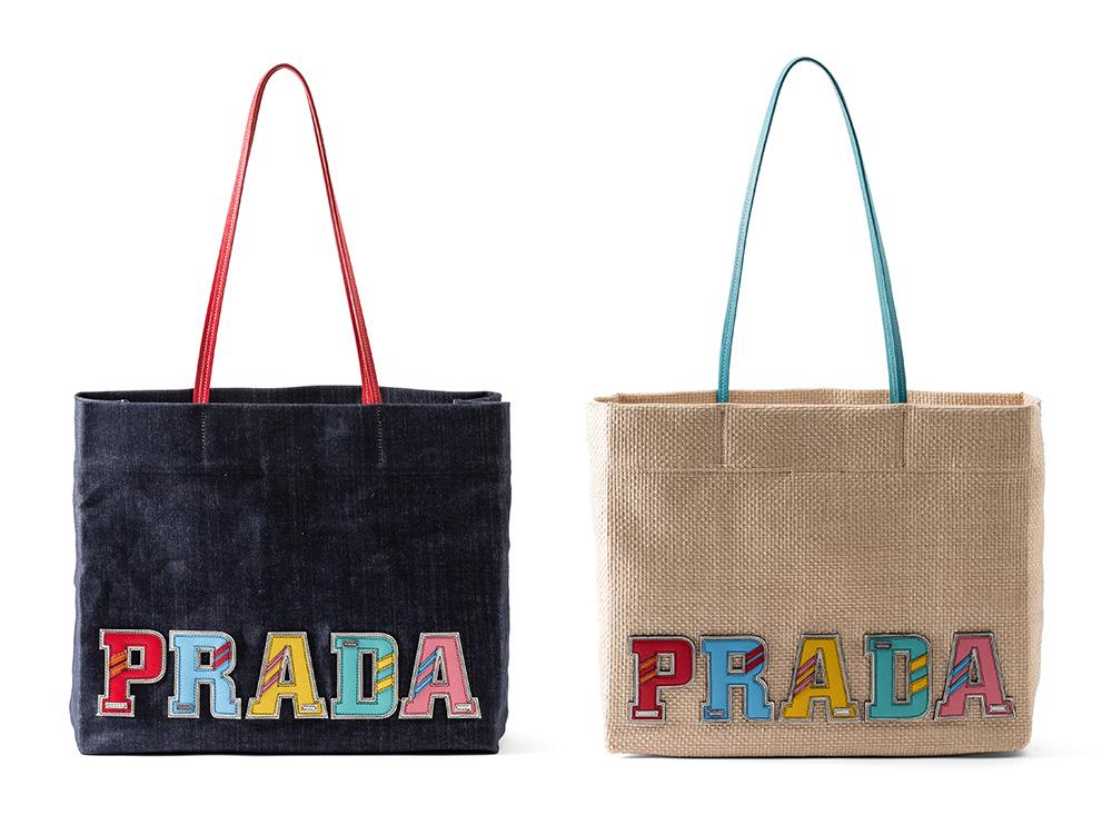 PRADAが新作レディーズレザーグッズのポップアップストアをオープン