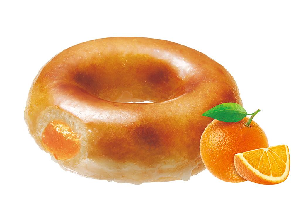 初夏にぴったり! クリスピー・クリーム・ドーナツにオレンジフレーバーが仲間入り