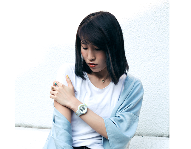 初夏のスタイルサンプルに♡ BABY-Gのウェブマガジン『Girl's Party!』にNYLONブロガーが登場!