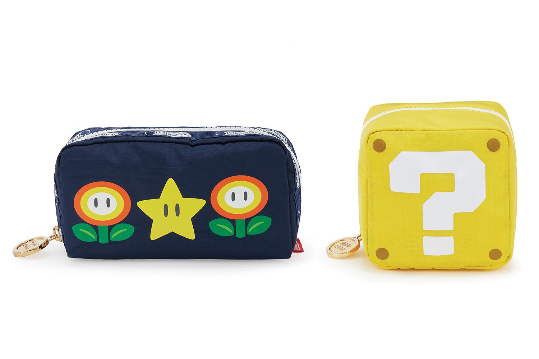 Nintendo × LeSportsacが「スーパーマリオ」をモチーフに遊び心のあるアイテムをローンチ