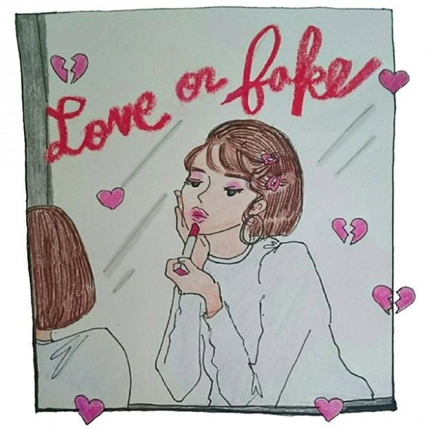 Shower of love 2人のNYLONブロガーが詩とドローイングで綴る、4つのシリアルストーリー *2