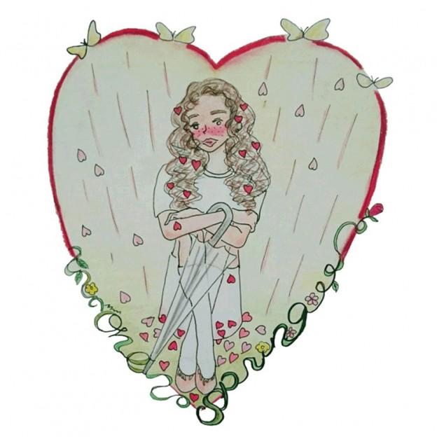 Shower of love 2人のNYLONブロガーが詩とドローイングで綴る、4つのシリアルストーリー