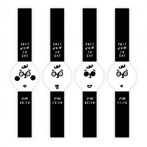 「FES Watch U」からイラストレーター・長場雄が手掛けたデザインが配信中