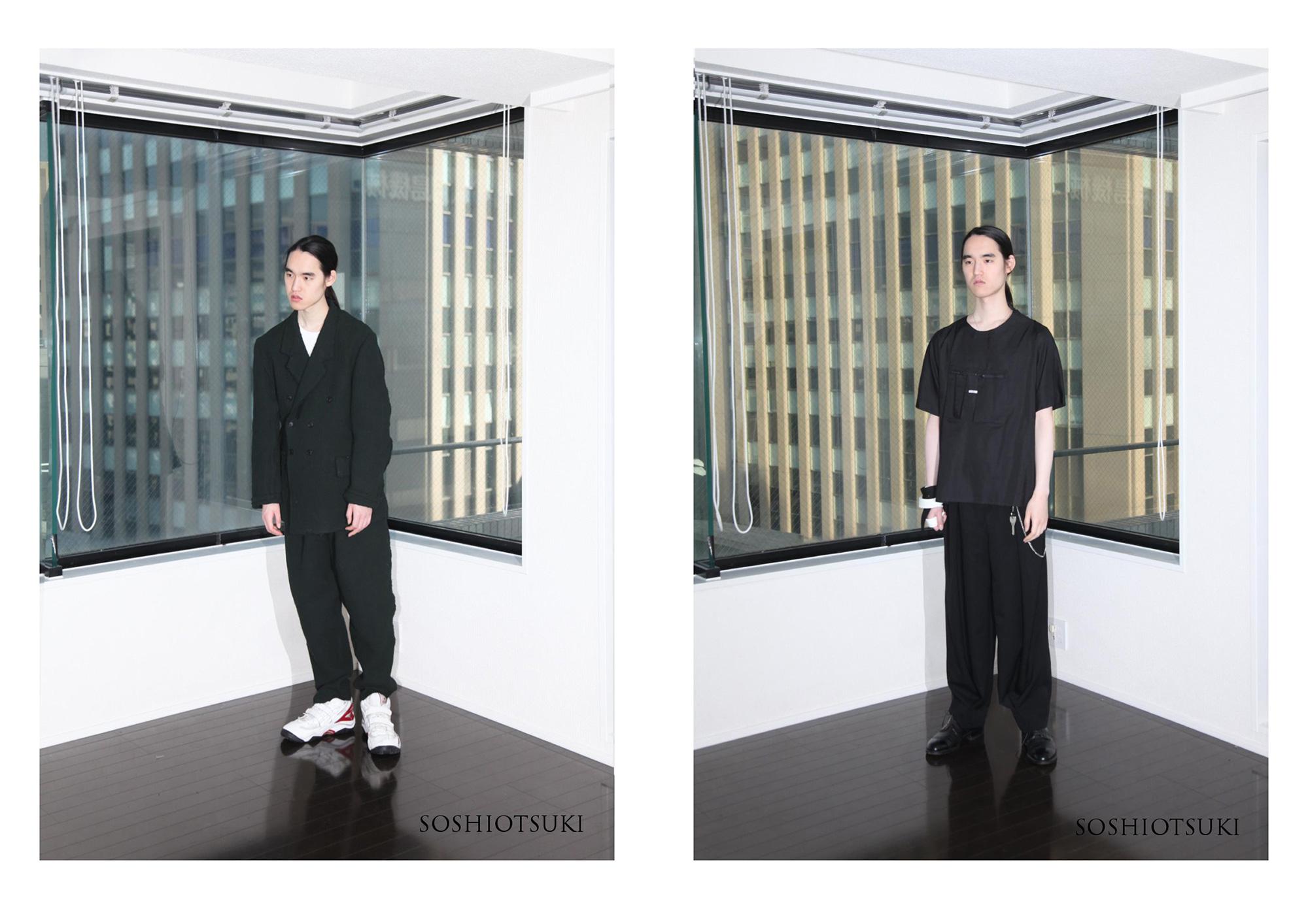 若手新鋭ブランド「SOSHI OTSUKI(ソウシ オオツキ)」がウェブ販売を開始!