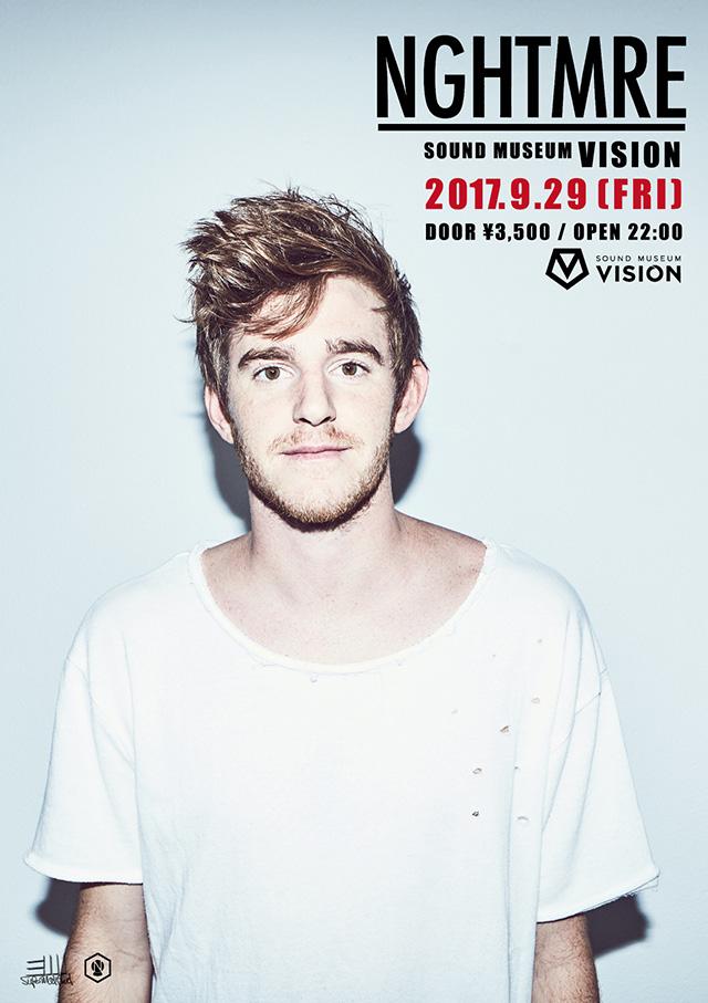 ALAN SHIRAHAMAが渋谷VISIONでDJプレイ!9/29(金)に「NGHTMRE IN TOKYO」が開催