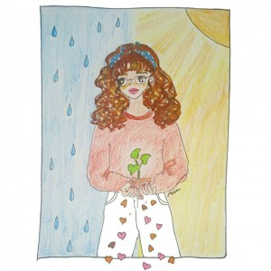 Shower of love 2人のNYLONブロガーが詩とドローイングで綴る、4つのシリアルストーリー *4