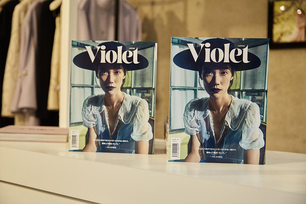 テーマは「花」。CARVEN表参道店×Violet Book Japanの期間限定ギャラリーがオープン