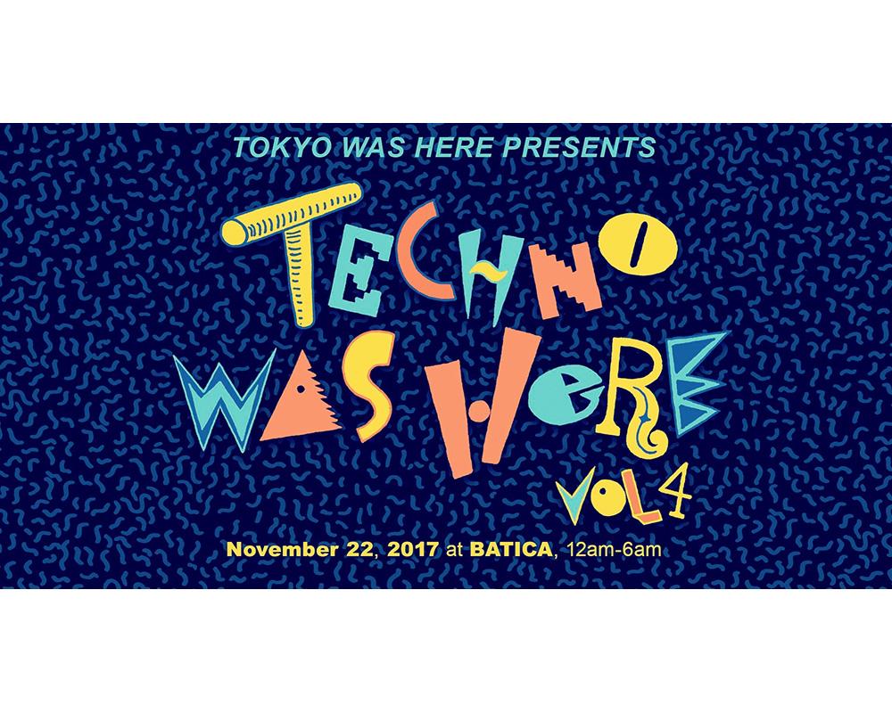 テクノ好き必見! 豪華DJ陣を揃えた「TECHNO WAS HERE」が開催