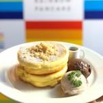 アメリカ生まれの「ベン&ジェリーズ」のアイスクリームとレインボーパンケーキが夢のコラボ♡