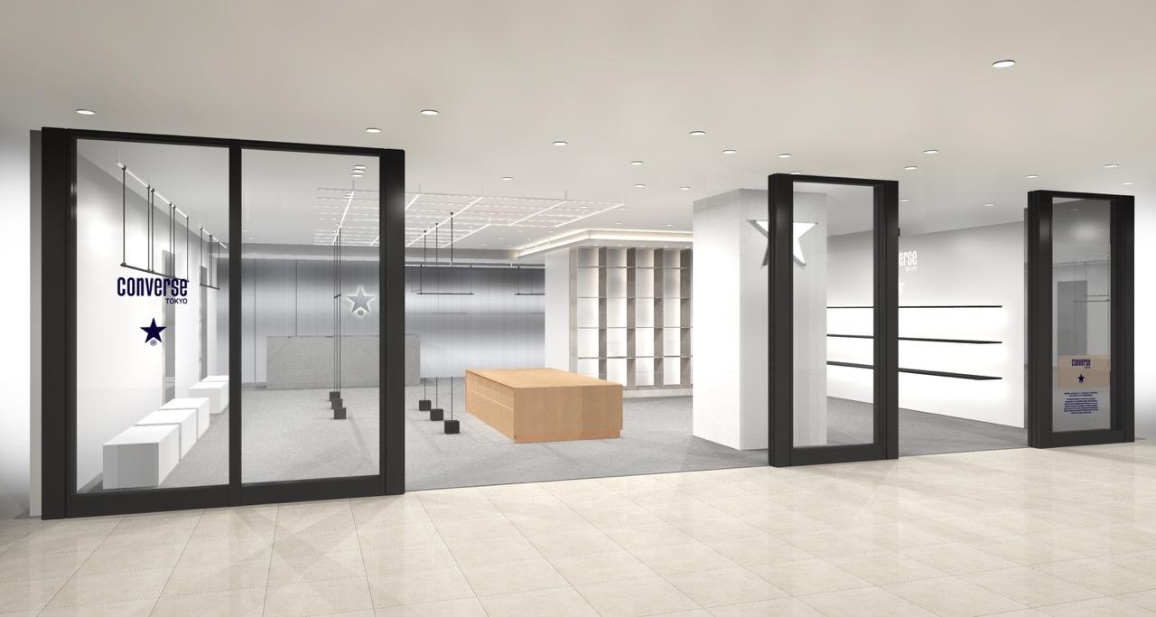 九州地区初出店となる『CONVERSE TOKYO FUKUOKA』が3月1日よりオープン