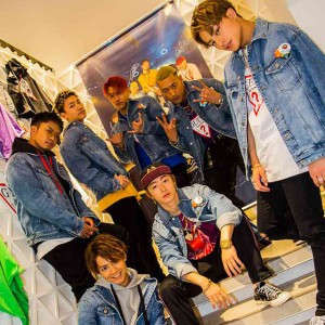 GENERATIONS×GUESSのスペシャルコレクションローンチパーティにてメンバーにインタビュー♡