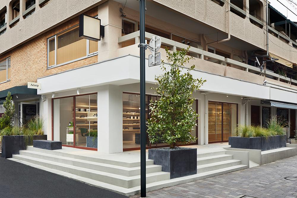 イソップ自由が丘店オープン! フランスの建築家Ciguëが手がけた内装をチェック