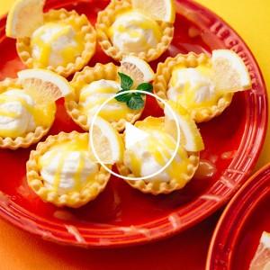 バレンタインにぴったりな簡単手作りスイーツ♡ COOKING FOR LOVE Day 5 LEMON CARD CHEESE CAKE