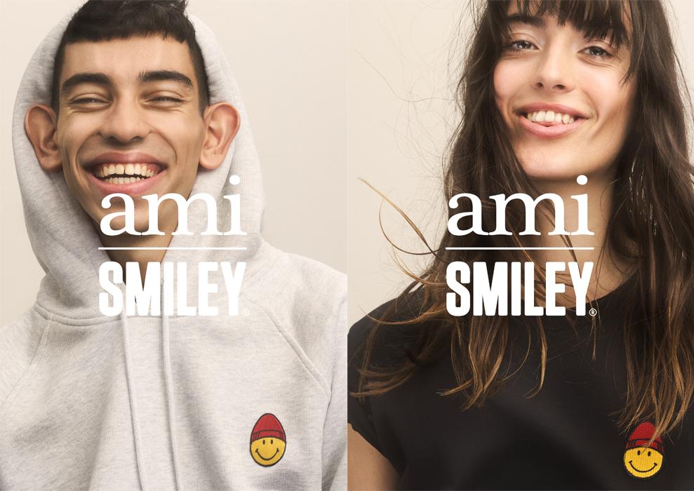 AMI×SMILEYのコラボレーションが再び♡ 新作が揃うポップアップストアも開催