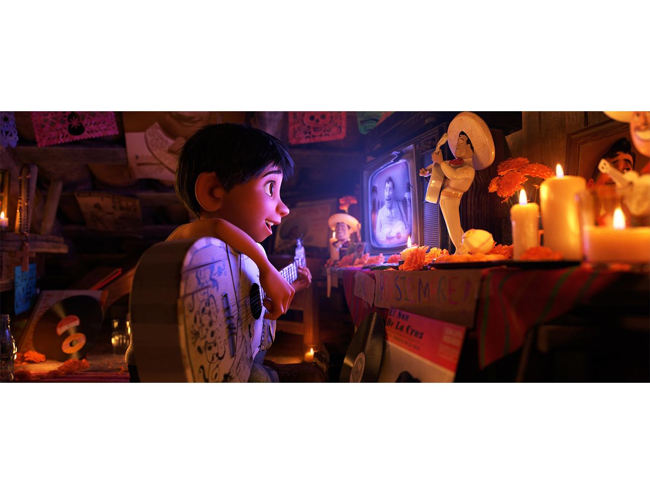カラフルで美しい死者の国に迷い込んだ少年の冒険物語『リメンバー・ミー』