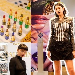 パリを代表する2ブランドがコラボレーション! ロレアル パリ バルマンコレクション ローンチパーティの模様をお届け