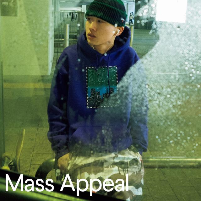 mass appeal men #2 1枚で完結するフーディがいくつも欲しい