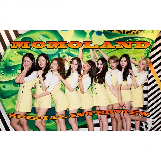 待望の日本デビューが決定した韓国の人気ガールズグループ・MOMOLANDにインタビュー♡