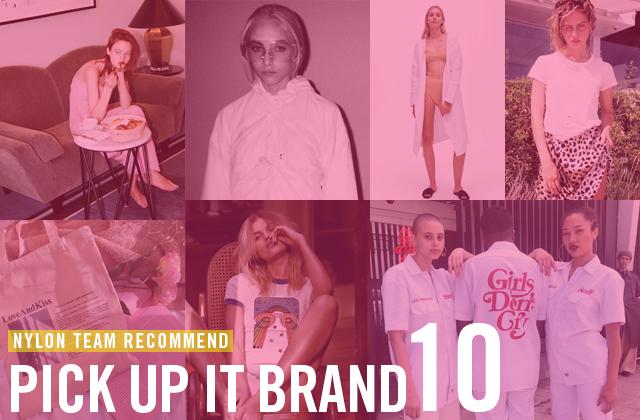 今注目すべきファッションとは? NYLONチームがレコメンドするitブランドをご紹介