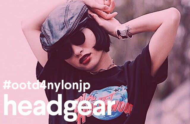 お気に入りのヘッドギアをいつものコーデにプラス! #ootd4nylon