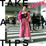 TAKE A TIPS +BEAMS COLOR PINK
