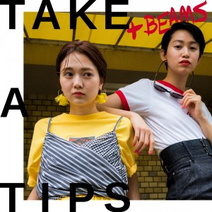 TAKE A TIPS +BEAMS T-SHIRT
