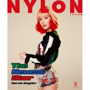 次世代ガールズアイコン「サラ・シュナイダー」が、NYLON JAPAN 5月号のスペシャルエディションのカバーガールとして初登場!