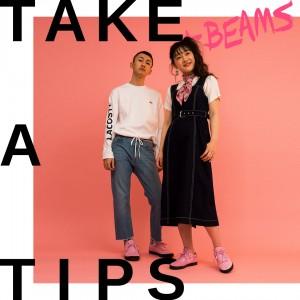 TAKE A TIPS +BEAMS SNEAKERS