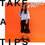 TAKE A TIPS +BEAMS SUNGLASSES