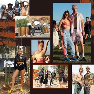 アメリカ最大級のフェス、COACHELLAでフェスガールをスナップ!